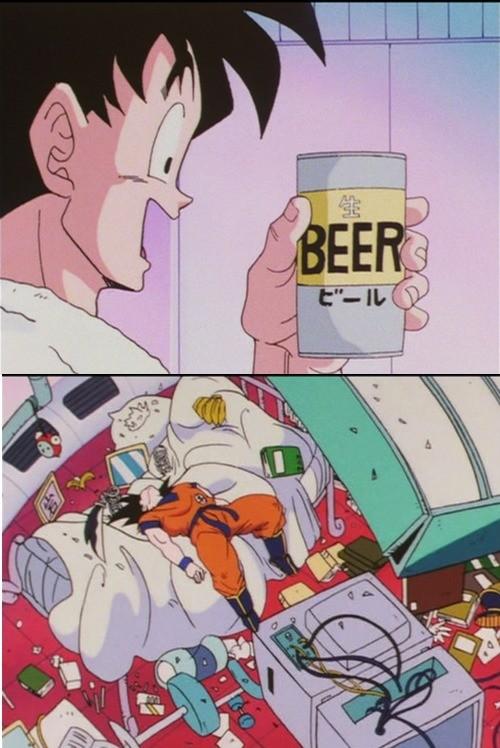 Alcohol is man's best friend. .. Cocaine is mans best friend too Anime manga Japan