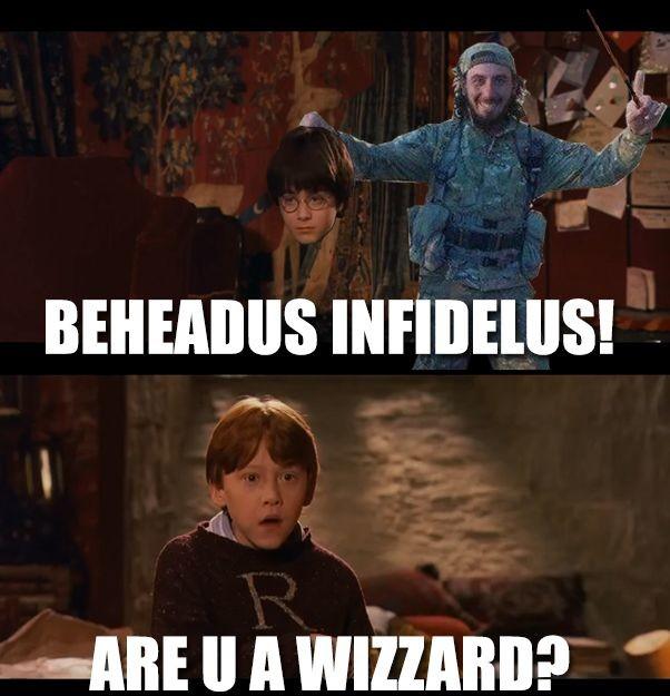 Allahbus Dumbledore. . BEHEADINGS ! Allahbus Dumbledore BEHEADINGS !