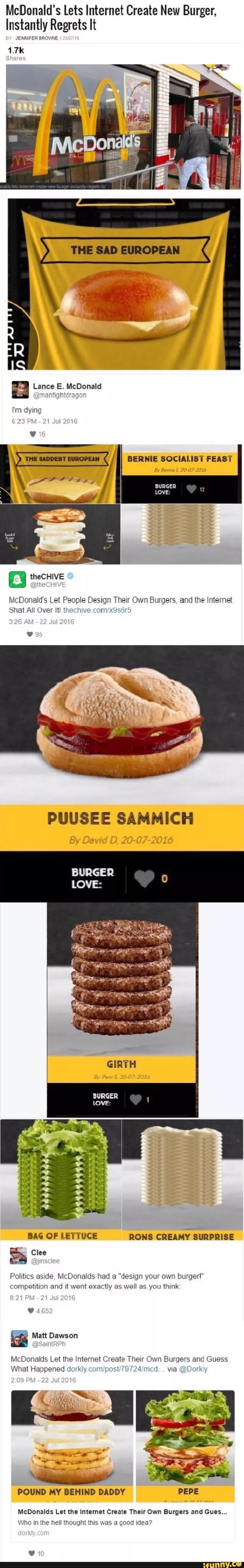 McDonald's. .. Now this is . McDonald's Now this is