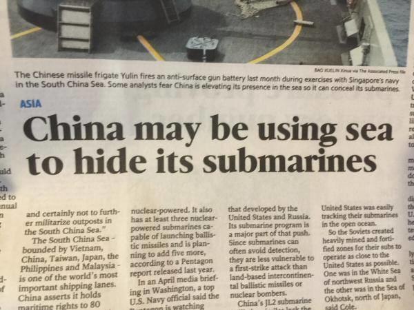 "Ysasaglay Luitaprod. . i, China may be using sea ii, to hide its submarines id its Philippines' . - sum. ""r. rattatta"" . ""mm g If shippin lanes . I s. I TSUP hi Ysasaglay Luitaprod i China may be using sea ii to hide its submarines id Philippines' - sum ""r rattatta"" ""mm g If shippin lanes I s TSUP hi"
