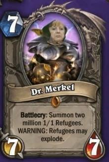 I'd assault it by summoning Merkel