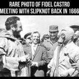 Castro meets Slipknot