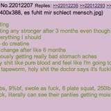 Tapeworm steals gains