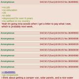 Robot wants to get a camper van