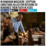 The Ramadan killing season has started