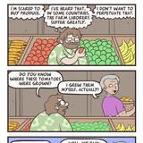 all Organic Slave labour