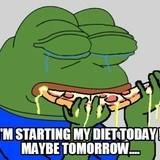 i'm starting my diet today!