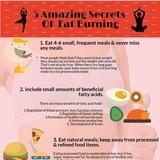 5 amazing secrets of fat burning