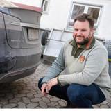 Driver Sacrifices His Tesla