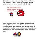 Romania and Armenia political relation
