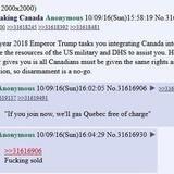 How would America take Canada?