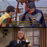 Great work, Batman!