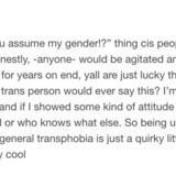 Assumed Gender
