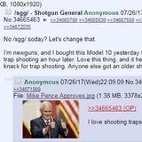 /k/ gets a shotgun