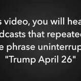 Trump April 26