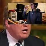 Donald trump singing panda and 9/11