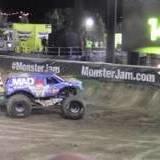 Monster Truck Does Front Flip In Las Vegas