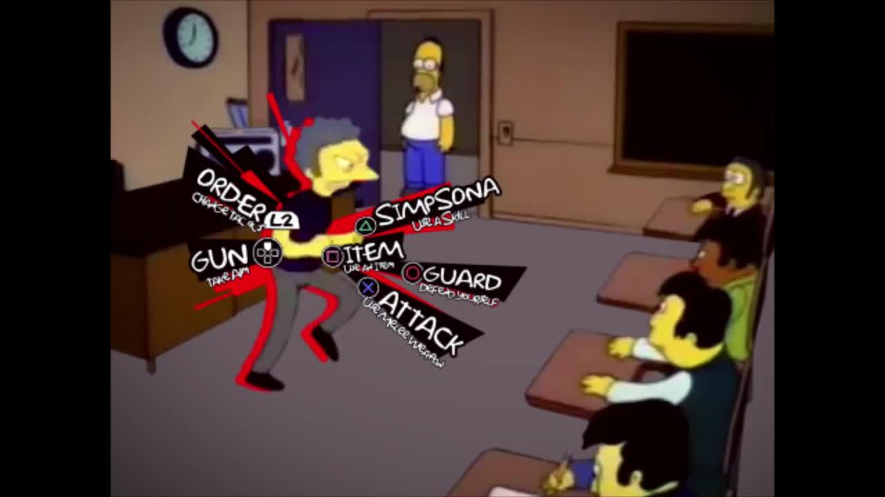 Simpsons Persona. .. ammo -1