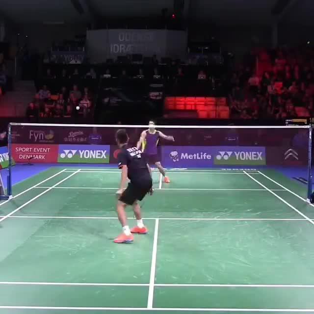 intense. .. Forget badminton, that's some goodminton.