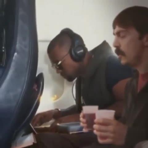"Kanye West at his Kanye Best. welovekanyewest.tumblr.com/post/13852... .. ""kanye.... do you want my cranberry juice?"""