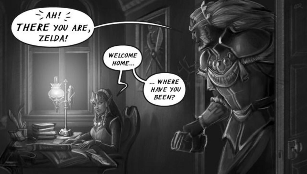A Tale of Two Rulers Part 121.  . THERE my ARE, ZELFS! Warfail, rta MK. WHER Zelda link Rinku Ganondorf Figmentform