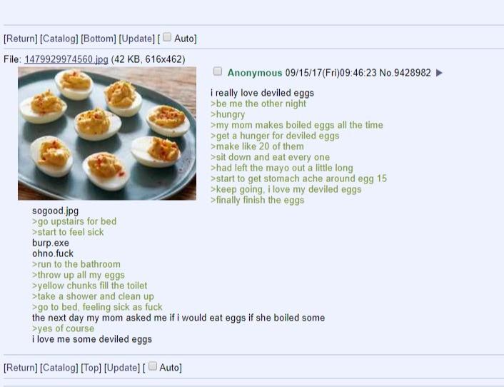 Anon likes eggs. . Anon likes eggs