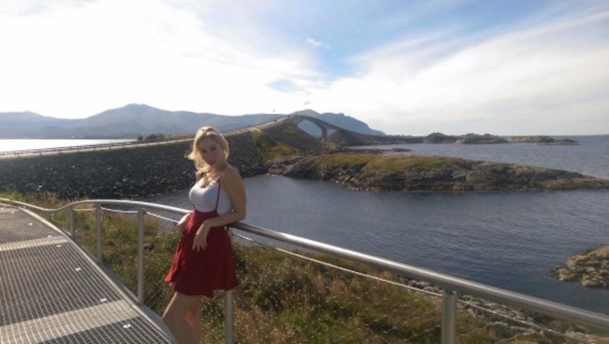 Atlanterhavsveien - Atlantic Ocean Road, Norway. .. Mario kart sure is getting realistic. Atlanterhavsveien - Atlantic Ocean Road Norway Mario kart sure is getting realistic