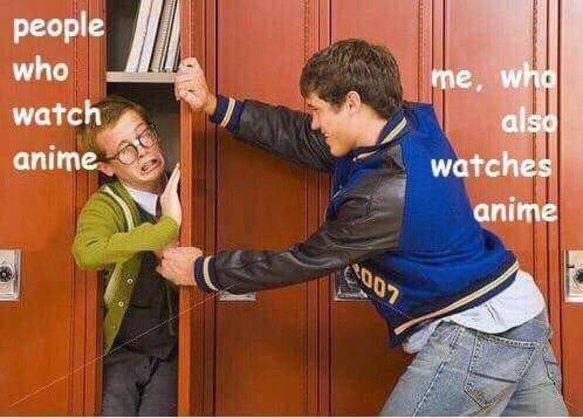 Describe yourself using a meme. .. me meme Anime Trash locker