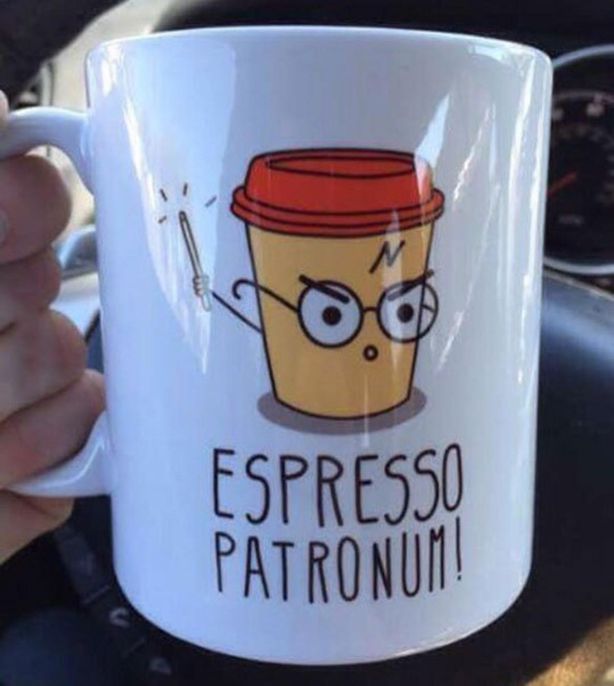 Espresso Patronum. . Harry Potter hp lol funny