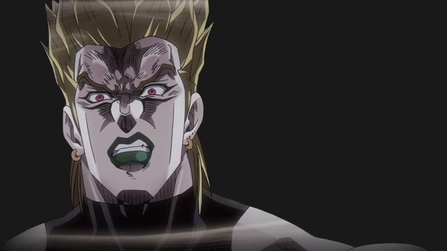 Even Dio is afraid (template). uzumakipavel.deviantart.com/art/Even-.... jojo Anime DIO