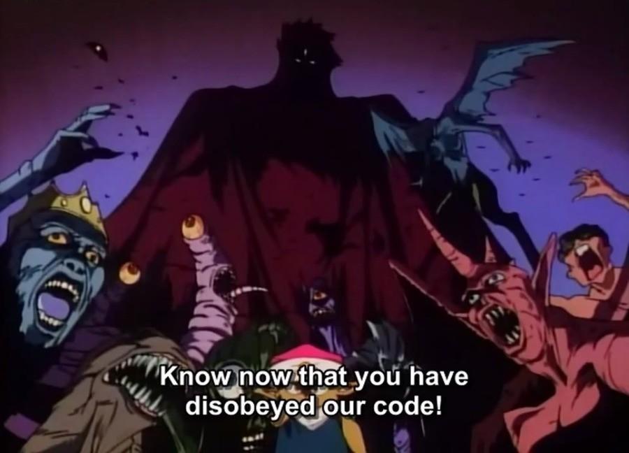 Extended Cut. Dragon Half.. meta jokes are the best dragon half Anime