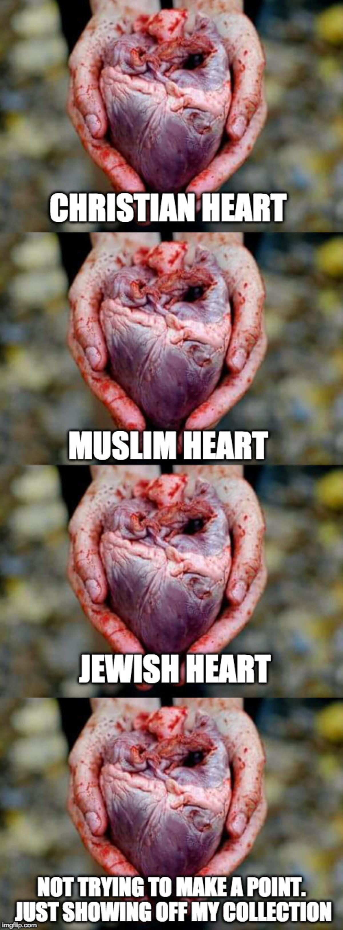 Hearts of the world. .. > Jewish Heart isn't black What? Hearts of the world > Jewish Heart isn't black What?