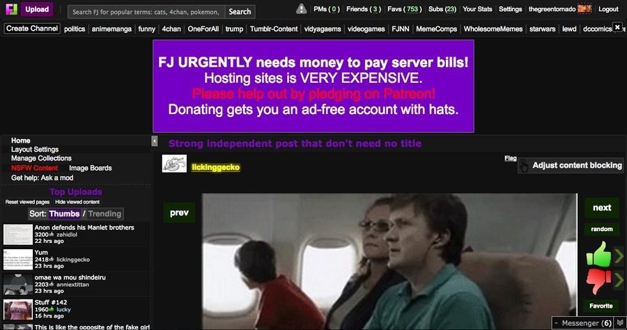 """It's getting bigger, isn't it?. . IAJ Upload ' PMs( p.) Friends for DC). a"""" rir"""" ris. caits, ac admin suck my ads"""