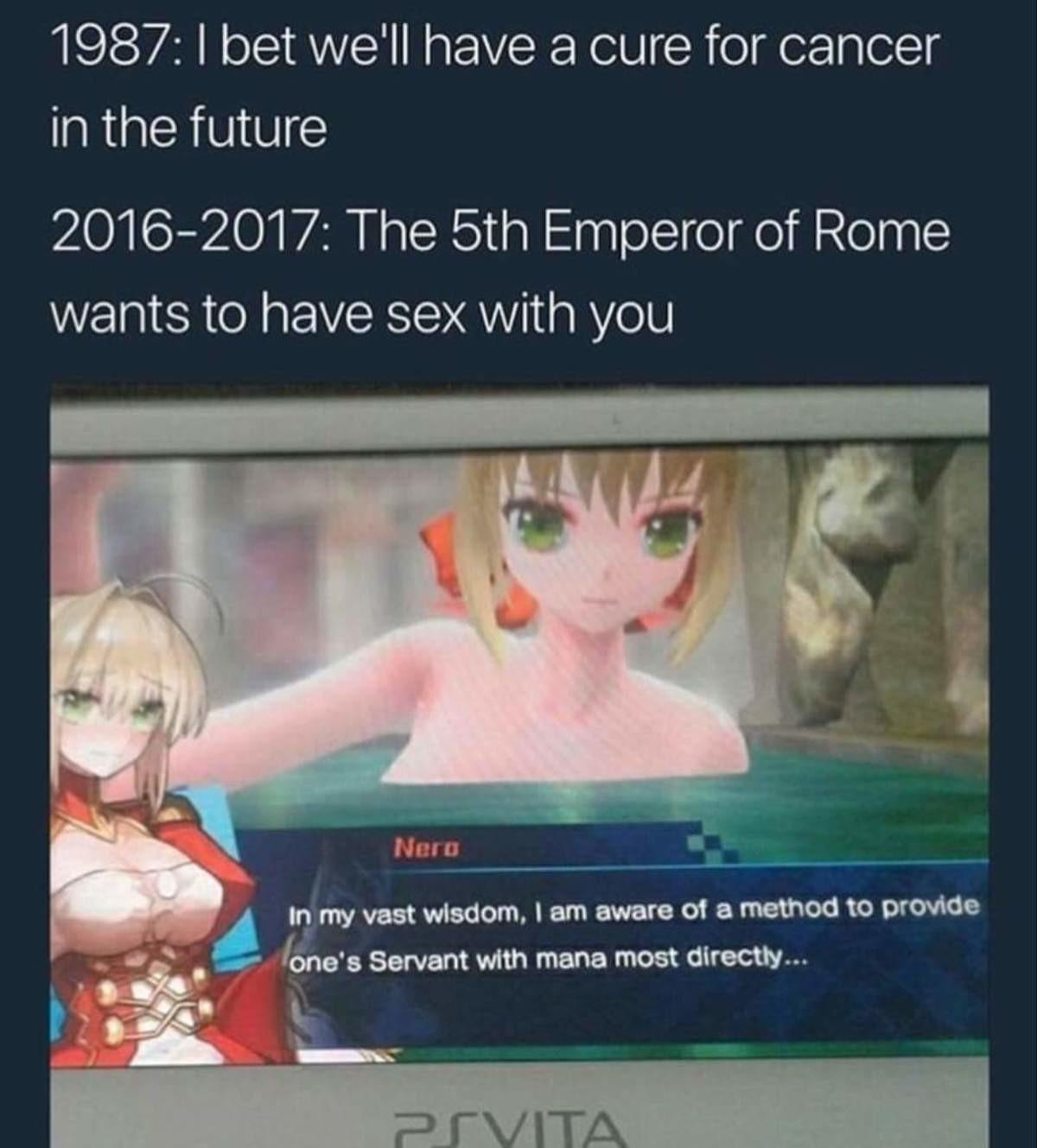 Lewd The UMU?. . in the future lvl/ ants to hal/ teii) SE) X with. >make a generic anime blob >call it nero wow japan is really greative Anime manga fate umu Nero Lewd bath