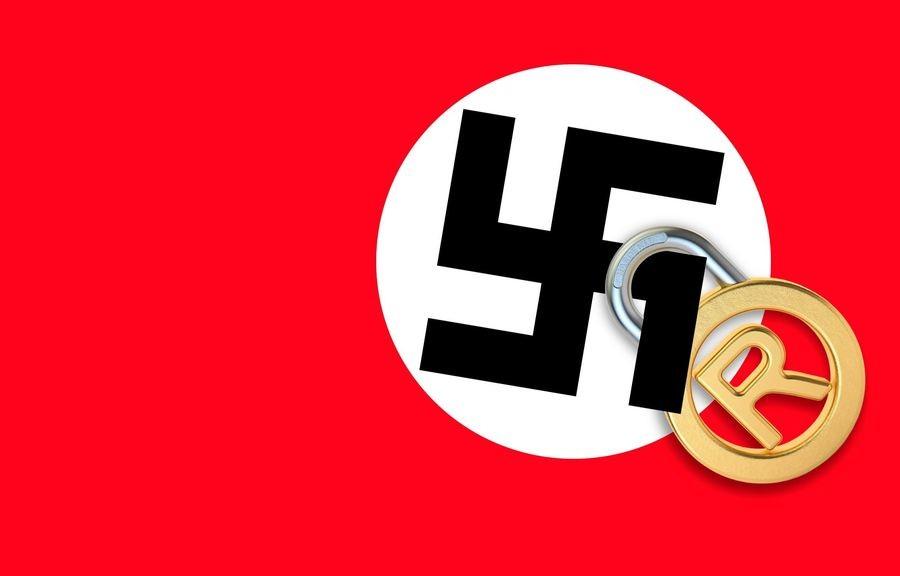 Man tries to trademark swastika. forward.com/news/377428/meet-the-man-... Meet The Man Who Wants To Trademark The Swastika — So Bigots Can't Use It Read more: f swastika nigga racism white supremacy trademark copyright Nazi silly