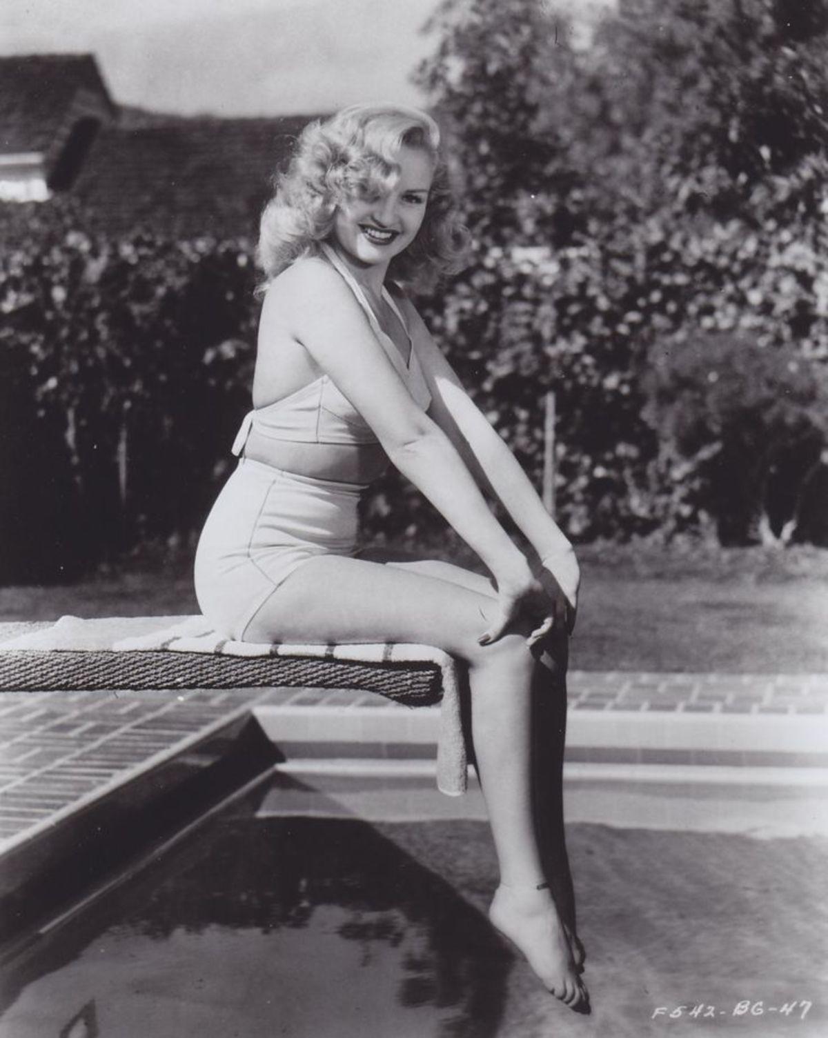 More Betty Grable pinups. . More Betty Grable pinups