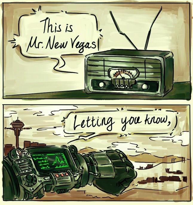 Mr. New Vegas. join list: COMICSVRAG (653 subs)Mention History joederartist.tumblr.com/.. Mr. New Vegas is such a great host, I love him. Mr New Vegas join list: COMICSVRAG (653 subs)Mention History joederartist tumblr com/ is such a great host I love him