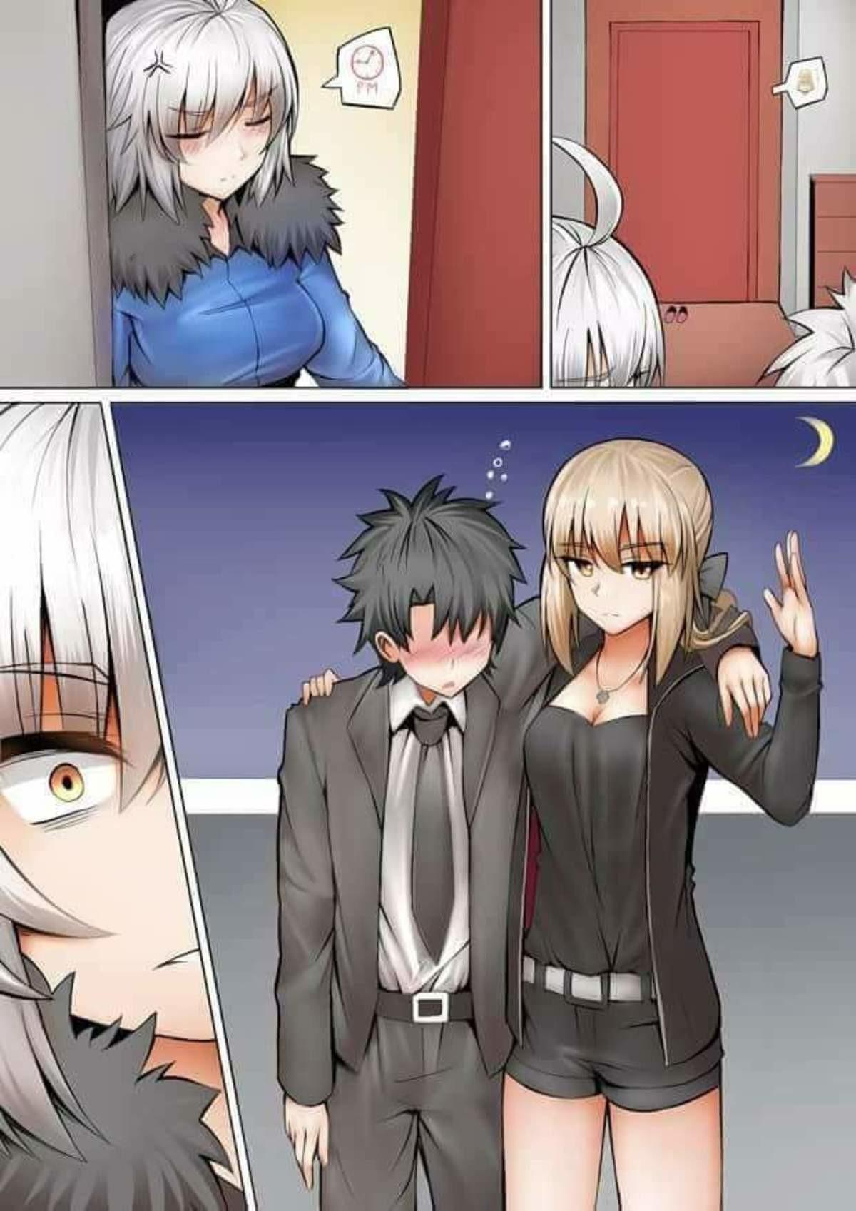 The Plot Thickens For Mama Jalter. .. RIP Gudao. Anime manga jalter salter artoria fatego