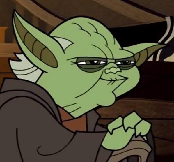 Yoda Smug. . Yoda Smug