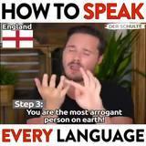 How to Speak different langues