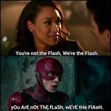 Fuce you I am the flash