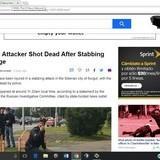 Stabbing spree in Russia.