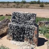 Arizona: Jefferson Davis Monument vandalized