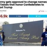 Based President Renames Bases